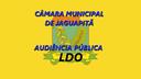 Edital de Audiência Pública LDO 17/06/2021 - 16:00h